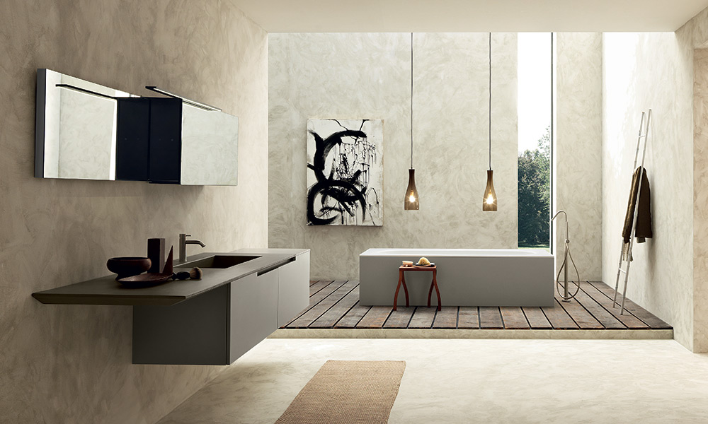 Bagno moderno MOON CROSS