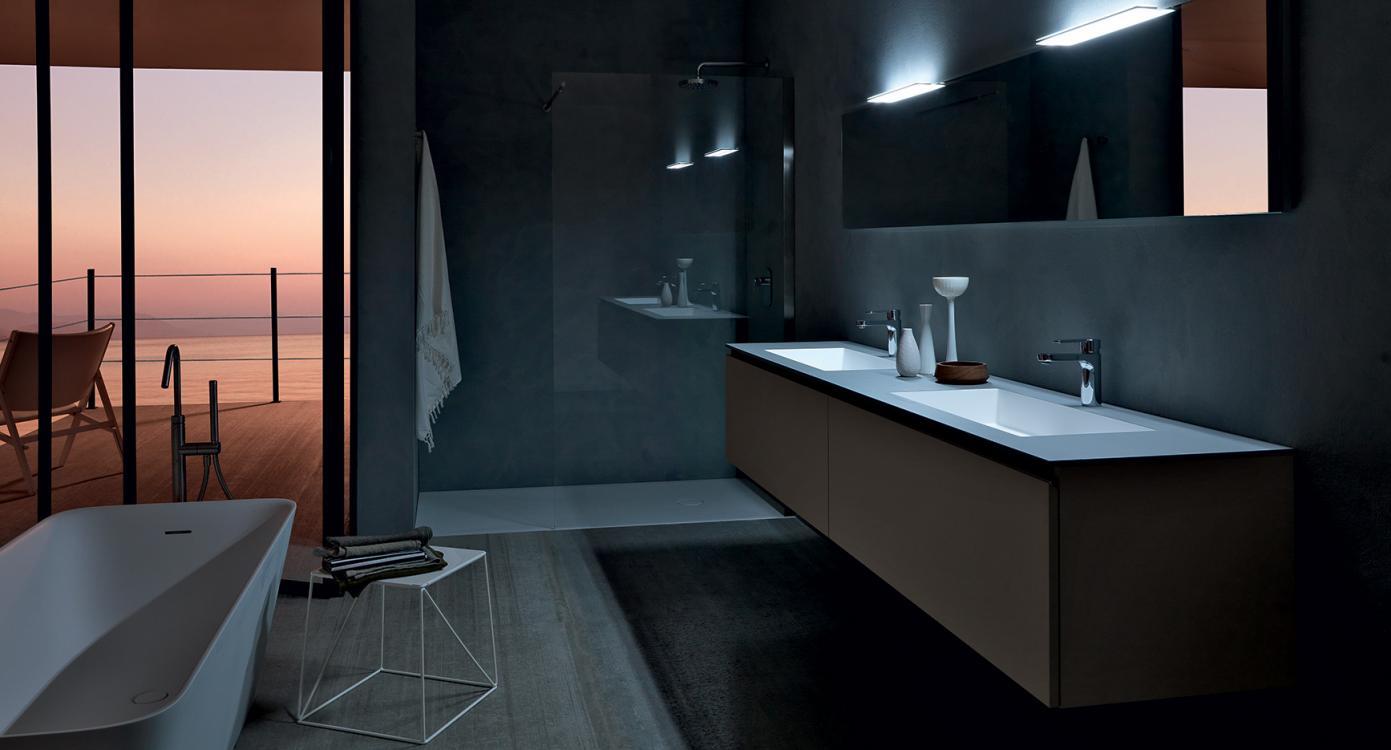 Light Bathroom Modulnova Bagni