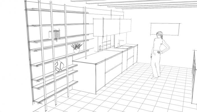 mediadesign | il configuratore grafico 3d di modulnova - Disegnare Cucina 3d