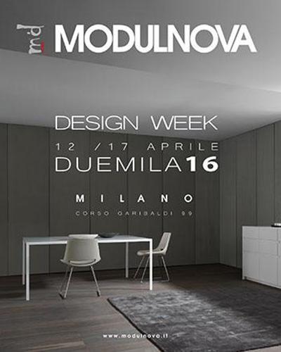 DESIGN WEEK - 12/17 Aprile 2016 - Milano, Corso Garibaldi 99
