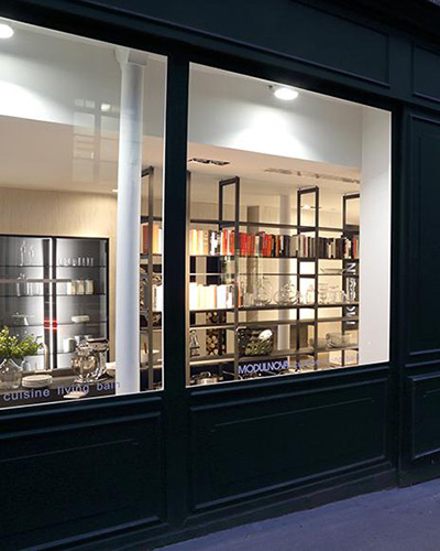 MODULNOVA apre il secondo Flagship Store a Parigi