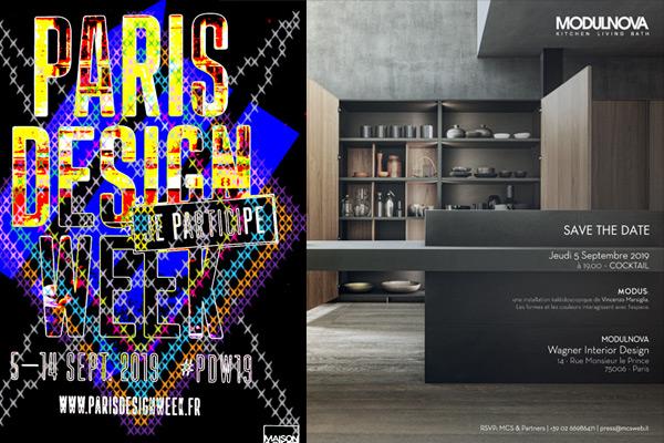 Evento Modulnova alla Paris Design Week 2019