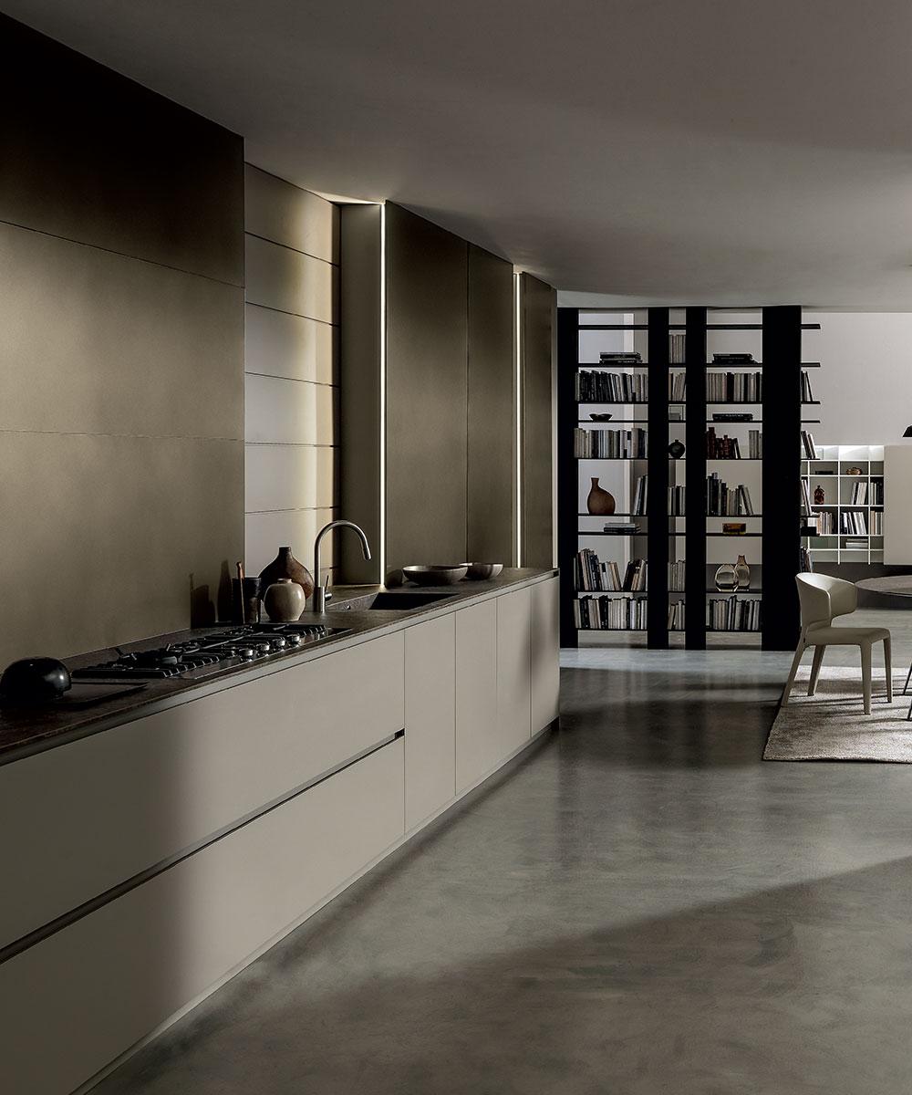 Modulnova blade arredo design per tutta la casa - Cucine con forno alto ...