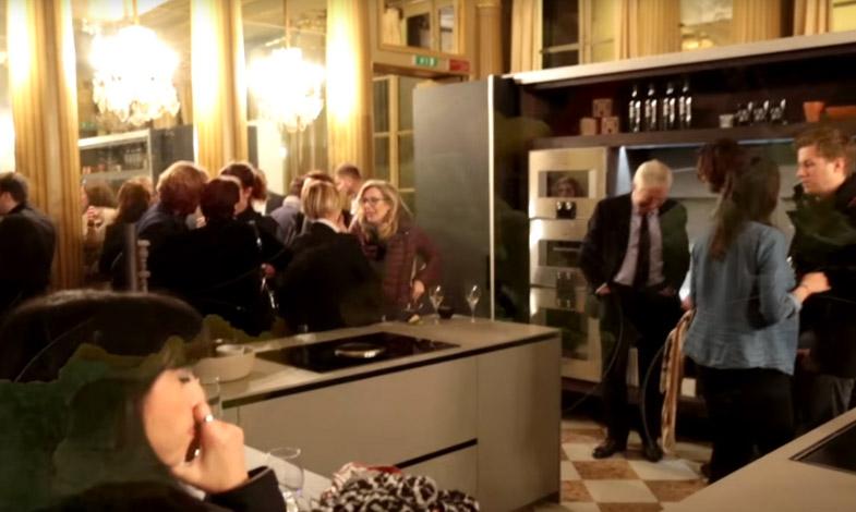 Der italienische Stil hat Paris begeistert - Modulnova Special Event