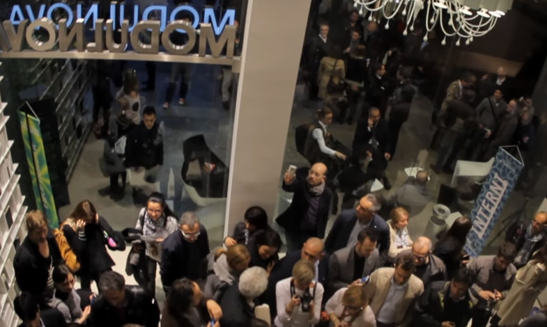 Eröffnung Flagship Modulnova - Corso Garibaldi 99, Brera Mailand